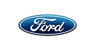 Het Ford logo, wij leveren Ford onderdelen voor schoolbussen.